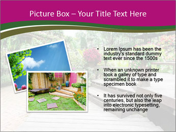 Garden flowers PowerPoint Templates - Slide 20
