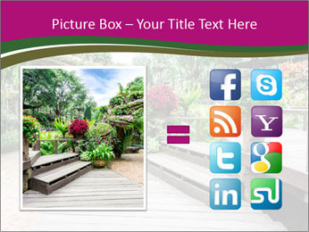 Garden flowers PowerPoint Templates - Slide 21