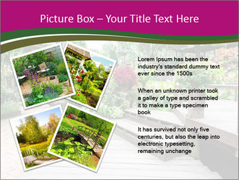 Garden flowers PowerPoint Templates - Slide 23