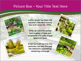 Garden flowers PowerPoint Templates - Slide 24