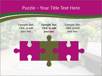 Garden flowers PowerPoint Templates - Slide 42
