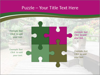 Garden flowers PowerPoint Templates - Slide 43