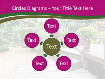 Garden flowers PowerPoint Templates - Slide 78