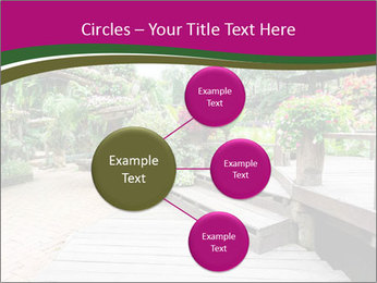 Garden flowers PowerPoint Templates - Slide 79