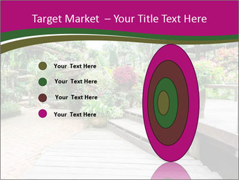 Garden flowers PowerPoint Templates - Slide 84