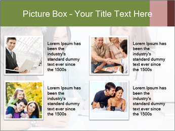 Happy Couple Looking By Doctor PowerPoint Template - Slide 14