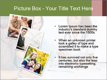Happy Couple Looking By Doctor PowerPoint Template - Slide 17