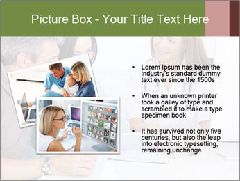 Happy Couple Looking By Doctor PowerPoint Template - Slide 20