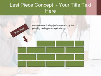 Happy Couple Looking By Doctor PowerPoint Template - Slide 46