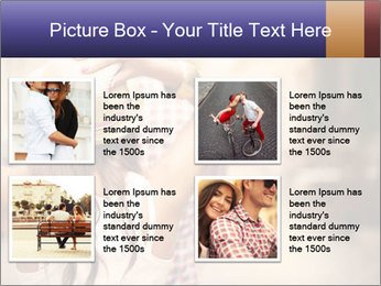 Couple riding PowerPoint Template - Slide 14