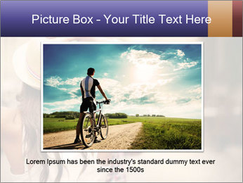 Couple riding PowerPoint Template - Slide 15