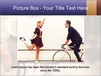 Couple riding PowerPoint Template - Slide 16