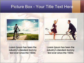 Couple riding PowerPoint Template - Slide 18