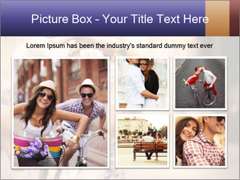 Couple riding PowerPoint Template - Slide 19