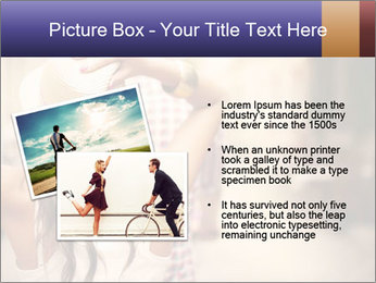 Couple riding PowerPoint Template - Slide 20