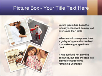 Couple riding PowerPoint Template - Slide 23