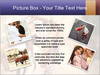 Couple riding PowerPoint Template - Slide 24