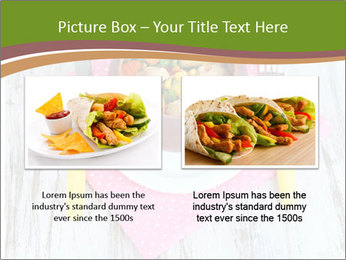 Baked mixed vegetable with chicken breast in pot PowerPoint Template - Slide 18