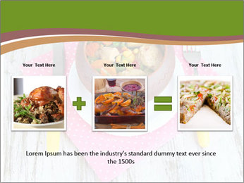 Baked mixed vegetable with chicken breast in pot PowerPoint Template - Slide 22