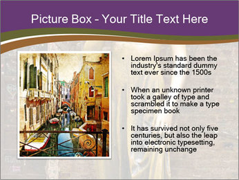 Statue of juliet in verona PowerPoint Template - Slide 13