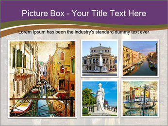 Statue of juliet in verona PowerPoint Template - Slide 19
