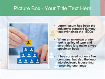 Human resources and corporate hierarchy concept PowerPoint Templates - Slide 13