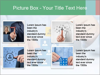 Human resources and corporate hierarchy concept PowerPoint Templates - Slide 14