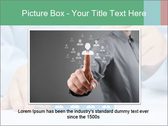 Human resources and corporate hierarchy concept PowerPoint Templates - Slide 16