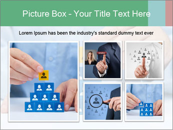Human resources and corporate hierarchy concept PowerPoint Templates - Slide 19