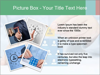 Human resources and corporate hierarchy concept PowerPoint Templates - Slide 23