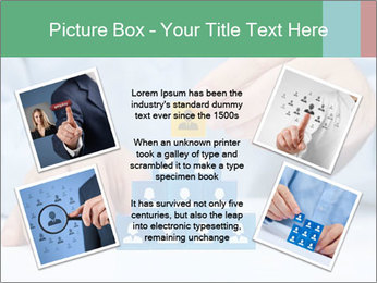 Human resources and corporate hierarchy concept PowerPoint Templates - Slide 24
