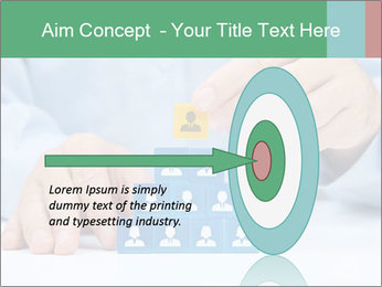 Human resources and corporate hierarchy concept PowerPoint Templates - Slide 83