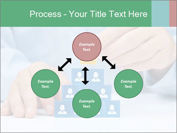 Human resources and corporate hierarchy concept PowerPoint Templates - Slide 91
