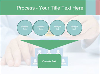 Human resources and corporate hierarchy concept PowerPoint Templates - Slide 93