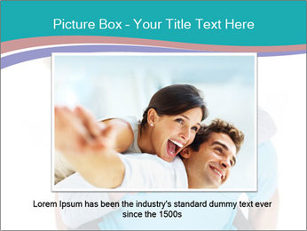 Mature Man Piggybacking His Happy Wife PowerPoint Templates - Slide 15