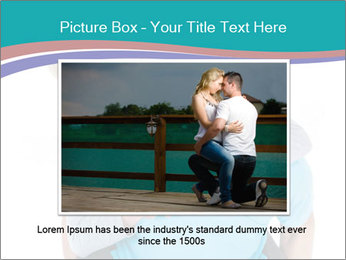 Mature Man Piggybacking His Happy Wife PowerPoint Templates - Slide 16