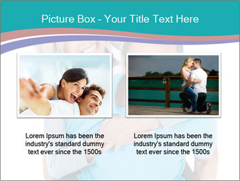 Mature Man Piggybacking His Happy Wife PowerPoint Templates - Slide 18