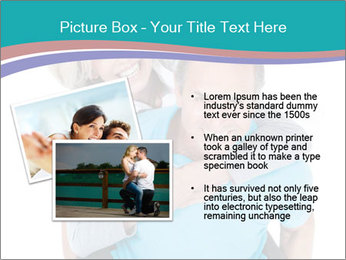 Mature Man Piggybacking His Happy Wife PowerPoint Templates - Slide 20