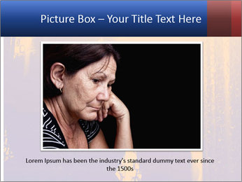 Sad girl PowerPoint Templates - Slide 15