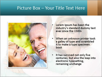 Happy senior couple in love PowerPoint Template - Slide 13