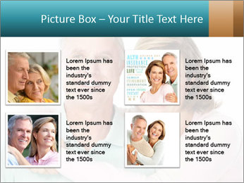Happy senior couple in love PowerPoint Template - Slide 14