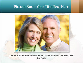 Happy senior couple in love PowerPoint Template - Slide 15