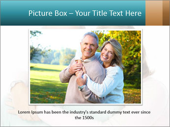 Happy senior couple in love PowerPoint Template - Slide 16