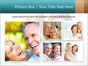 Happy senior couple in love PowerPoint Template - Slide 19