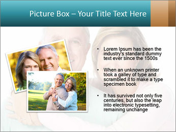 Happy senior couple in love PowerPoint Template - Slide 20