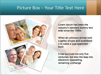 Happy senior couple in love PowerPoint Template - Slide 23