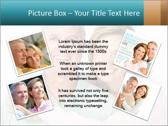 Happy senior couple in love PowerPoint Template - Slide 24