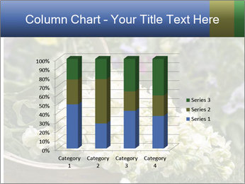 Freshly picked cream Matthiola Incana PowerPoint Template - Slide 50