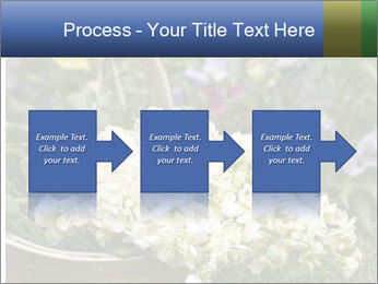 Freshly picked cream Matthiola Incana PowerPoint Templates - Slide 88