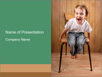 Crybaby PowerPoint Template